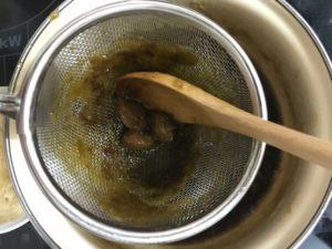梅味噌の作り方種とり2