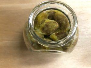 梅の種から梅醤油