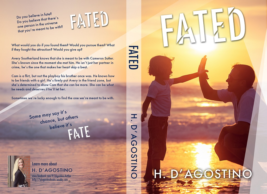 Cover Reveal – Fated by H. D'Agostino