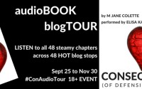 RENAMING DESTINY, Ch 9 of Consequences by M. Jane Colette #audiobook #excerpt #listentothis #ConAudioTour