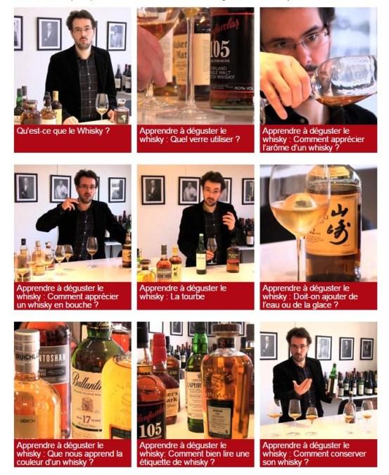 Apprendre à déguster le whisky en 10 videos