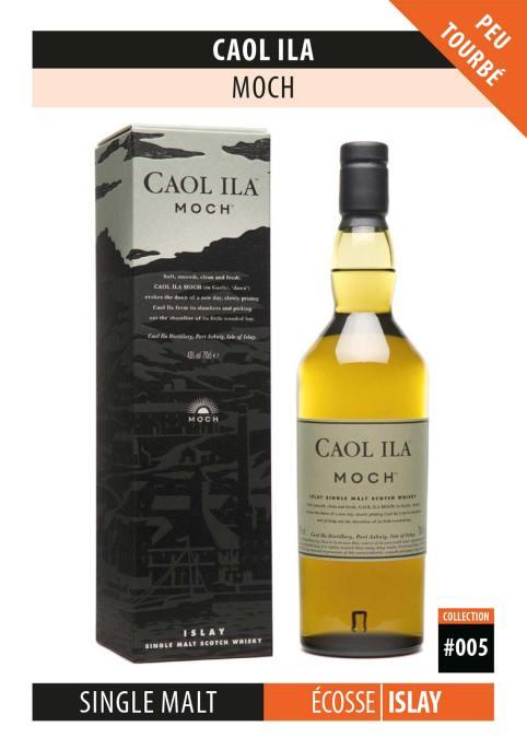Fiche Dégustation Whisky : Caol Ila – Moch