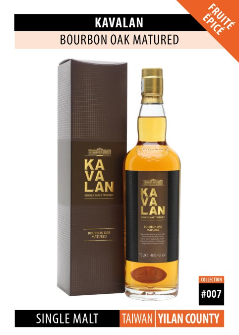 Fiche Dégustation Whisky : Kavalan – Seven Wood