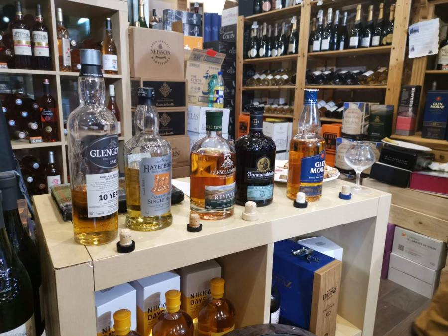 Dégustation whiskies – Cave du Chemin Long 20/04/19