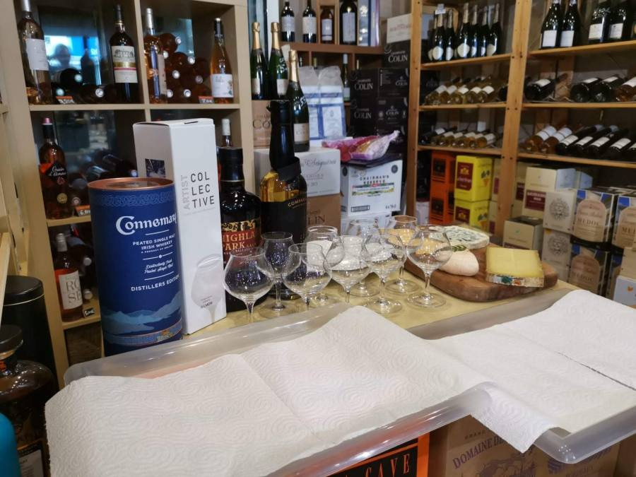 Whiskies Tourbés – Cave du Chemin Long Mérignac