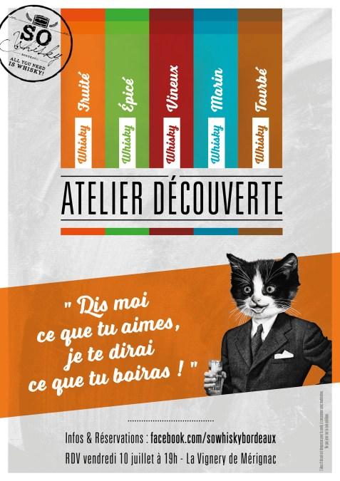 Dégustation de Whisky – Atelier Découverte La Vignery Mérignac