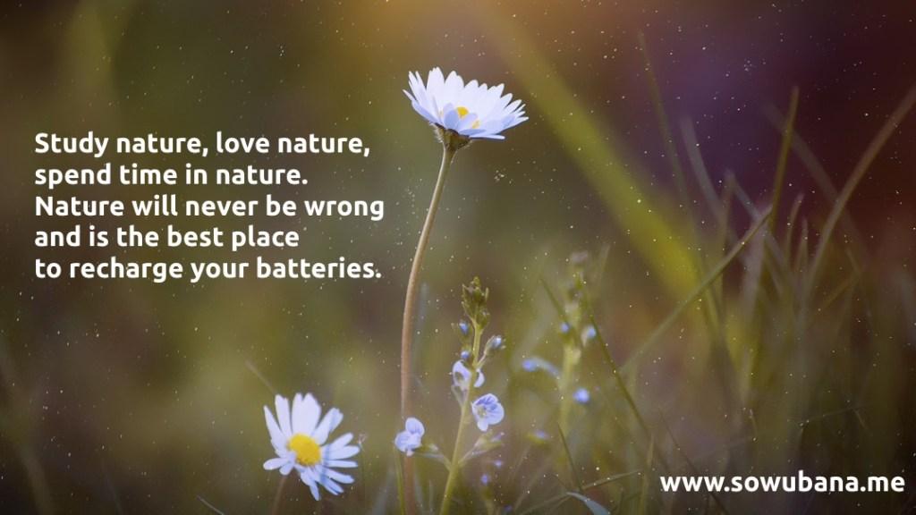 Study nature
