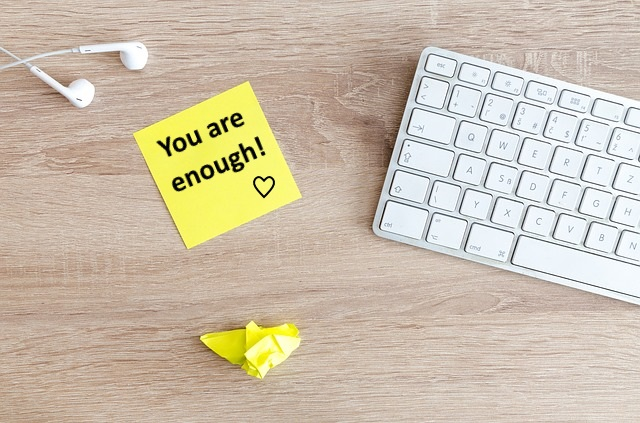 """""""You are enough"""" is so simple but yet effective!"""