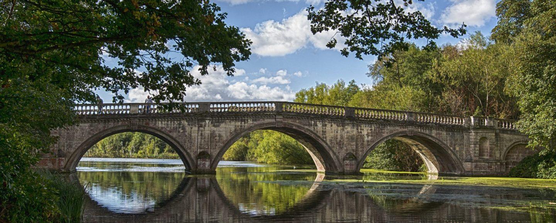 Bridge with 3 pillars of life
