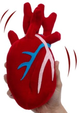 corazon latente plush