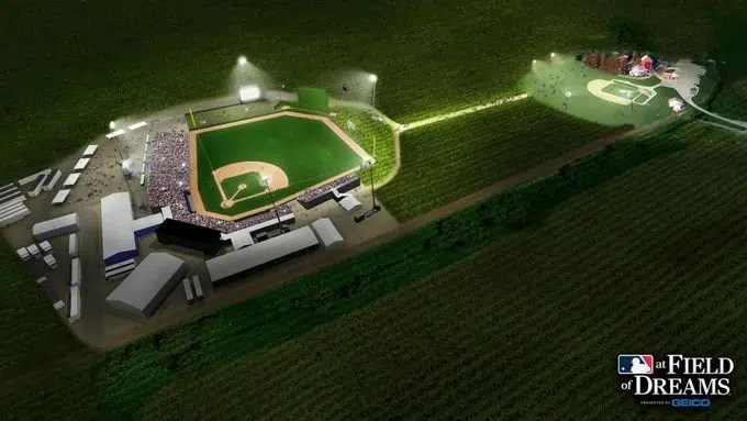 MLB's Yankees And White Sox To Play At 'Field Of Dreams' Farm