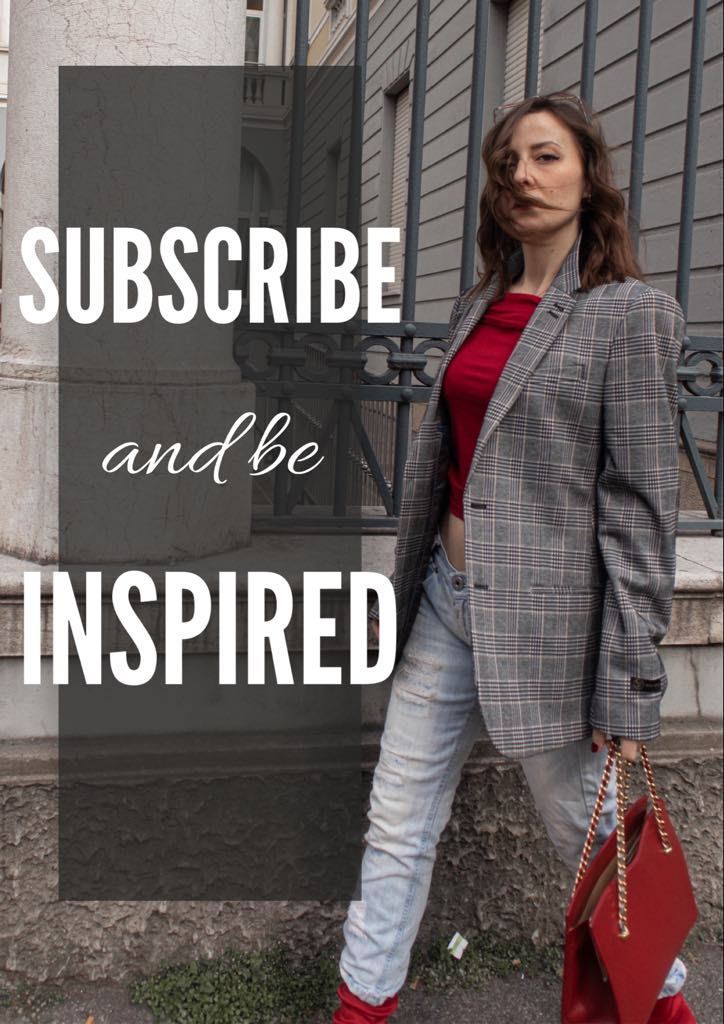 subscribe and be inspired