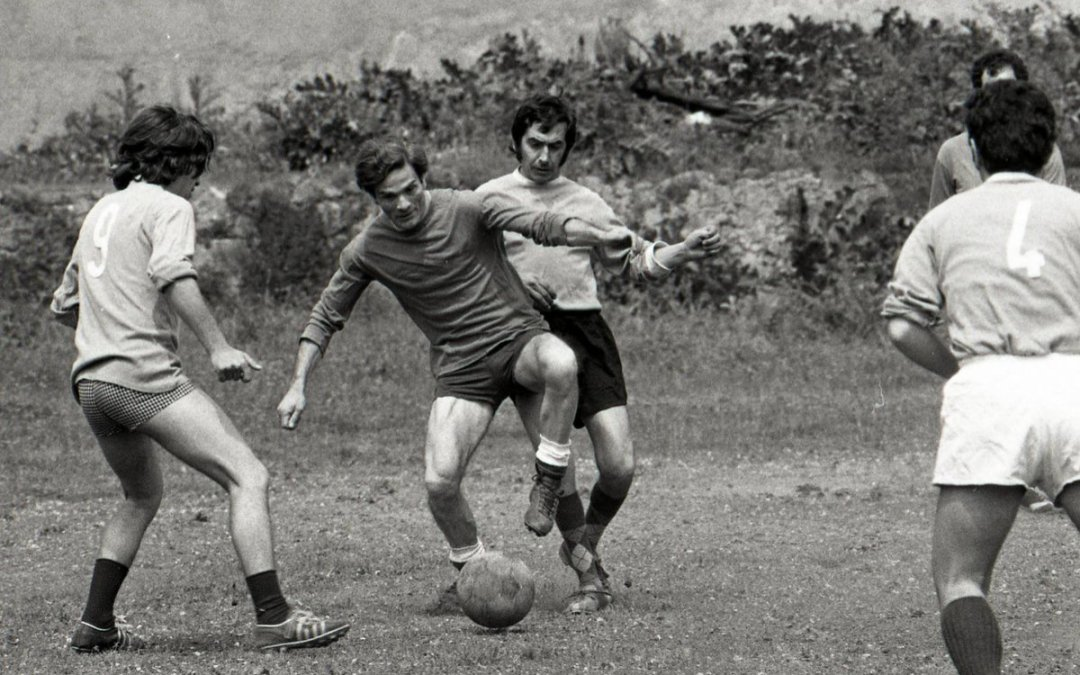 Pasolini, el poeta del Calcio