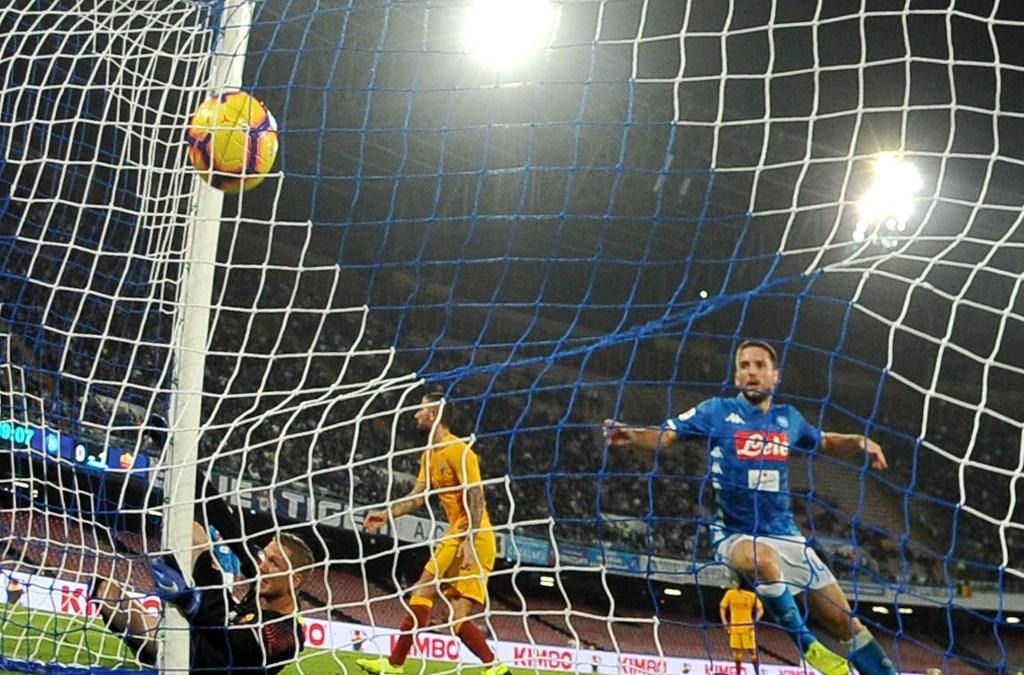 El Napoli 1-1 Roma en cinco detalles