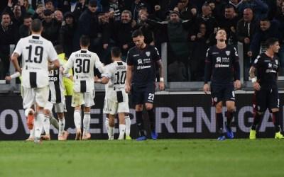 El Juventus 3-1 Cagliari en cinco detalles