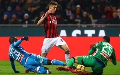 Previa Coppa Italia I Milan vs Napoli