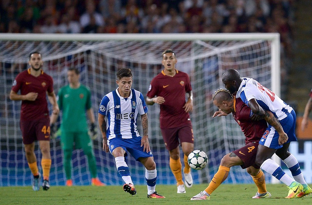 Previa Champions League I AS Roma – Porto