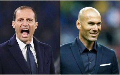 La Juventus quiere a Zidane como reemplazo de Allegri