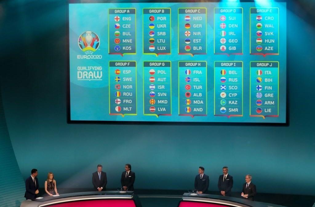 Análisis de los rivales de Italia en la fase de clasificación de la Euro 2020