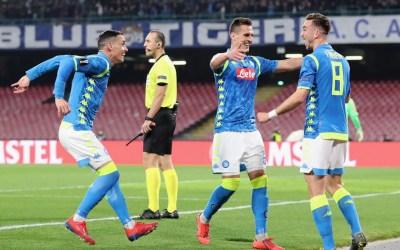 El Napoli 3-0 Red Bull Salzburgo en cinco detalles