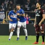 Defrel decide el Sampdoria – Milan en Génova