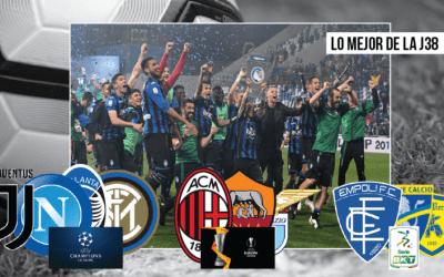 Análisis: lo mejor de la jornada 38 en la Serie A