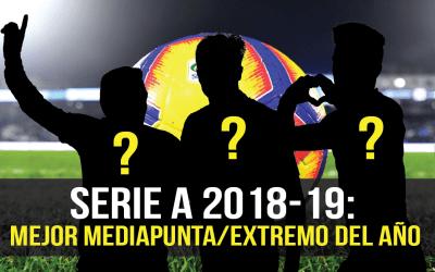 ¿Quiénes han sido los mejores mediapuntas o extremos de la Serie A?