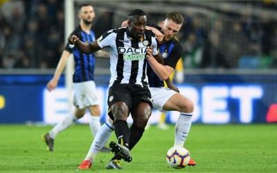 El Inter se complica la Champions tras pinchar en Udine