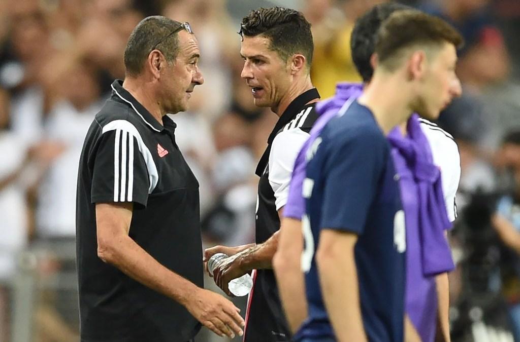 Sarri: «Ronaldo debe hacer la diferencia. ¿Dybala? Falso 9 o trequartista»