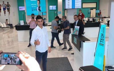 Cristian Romero pasa reconocimiento médico con la Juventus