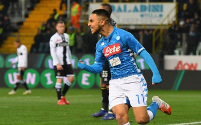 OFICIAL | Adam Ounas deja el Napoli y se marcha cedido al Niza