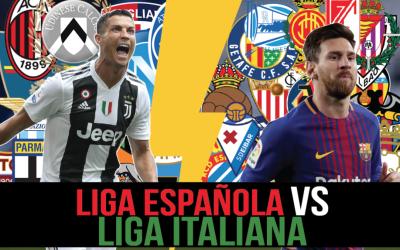¿Es mejor la Serie A que LaLiga de España?