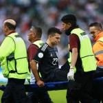 Hirving Lozano, lesionado en el tobillo con México