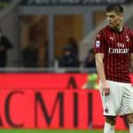 El Milan considera ceder a Piatek en enero