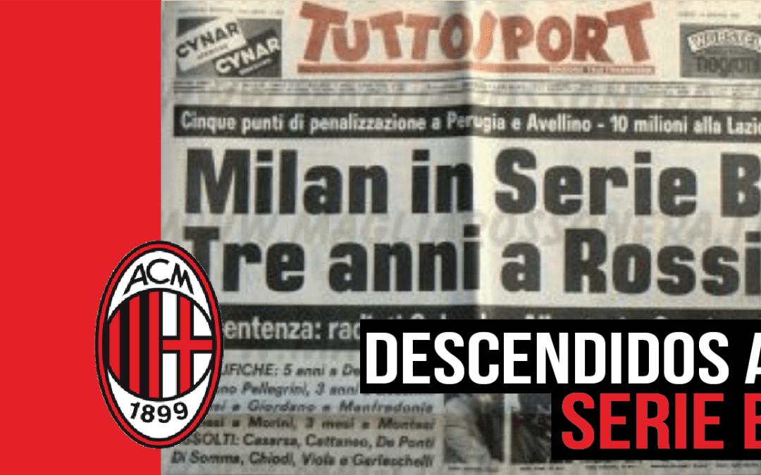 El Totonero, la etapa más oscura de la historia del Milan