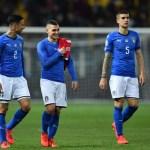 Verratti, Berardi y Spinazzola, baja con Italia por lesión