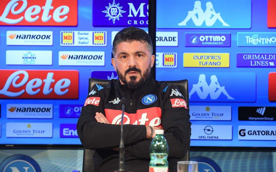 Gattuso: «El Napoli no puede quedarse fuera de Europa»