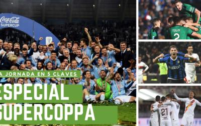 Análisis de la jornada 17: La Lazio gana la Supercoppa