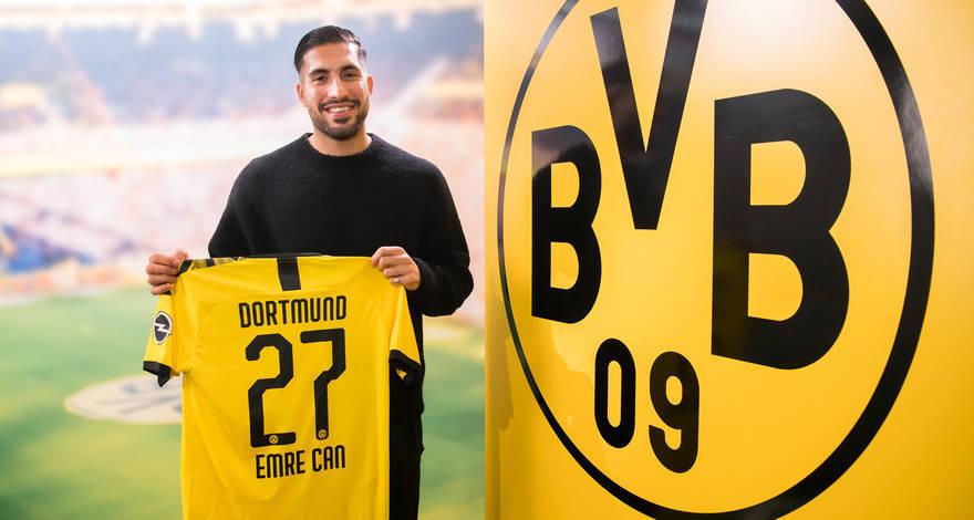OFICIAL I Emre Can es nuevo jugador del Borussia Dortmund