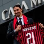 Ibrahimovic en su presentación: «Solo renovaré en junio si he dado algo al Milan, no por solo ser Ibrahimovic»
