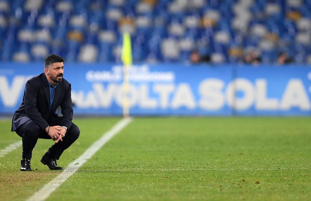 Gattuso: «Nuestro partido fue vergonzoso, hemos tocado fondo»