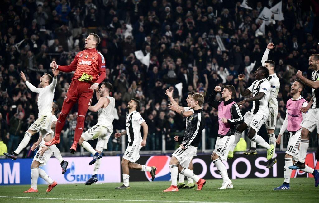 OFICIAL   Lista de la Juventus de Turín para la Champions League