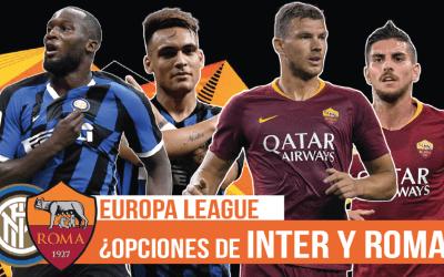 ¿Pueden el Inter o la Roma ganar la Europa League?