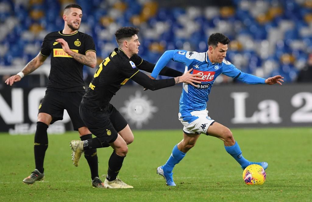 Previa Coppa Italia I Inter de Milán vs Napoli