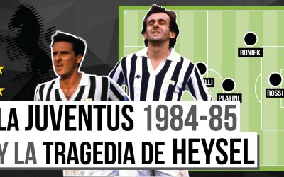 La primera Copa de Europa de la Juventus