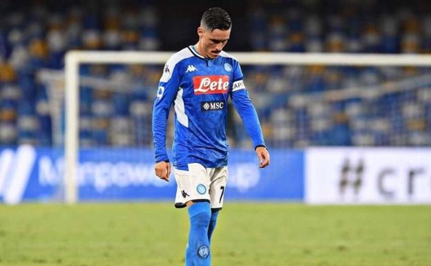 El Napoli se despide de José Callejón