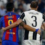 Chiellini acepta a Luis Suárez en la Juventus