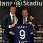Álvaro Morata en su presentación con la Juventus: «Es un sueño para mí volver aquí»
