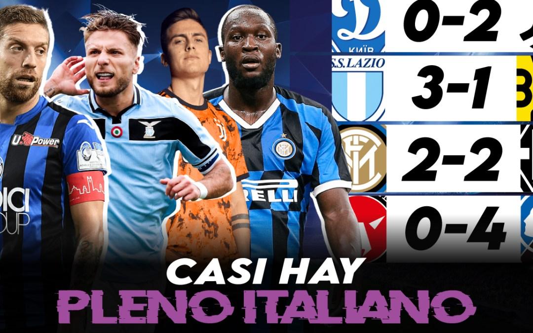 Análisis Champions League: El Inter estropea el pleno italiano