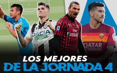 Lo mejor de la jornada 4 en la Serie A 2020/21